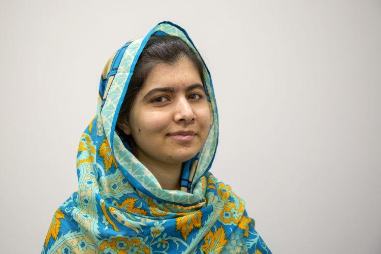 Portait of Celebrity Edge godmother Malala Yousafzai