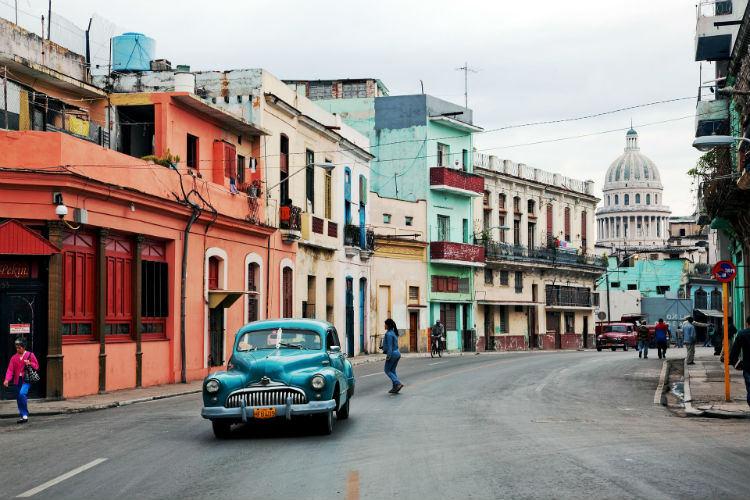 Cuba, Caribbean - Cars on the street