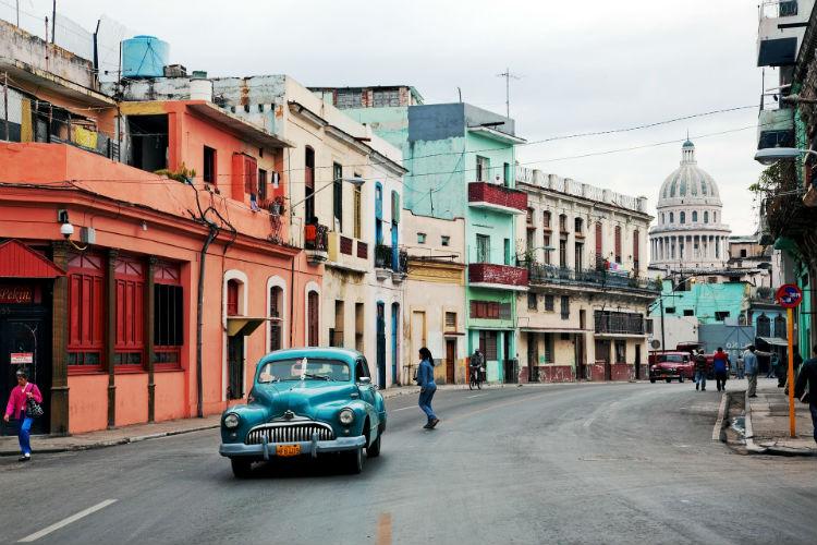 Cuba, Caribbean - Cars on the street
