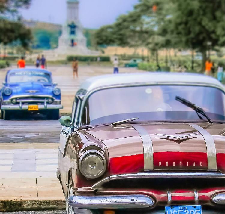 Classic cars in Cuba - Caribbean