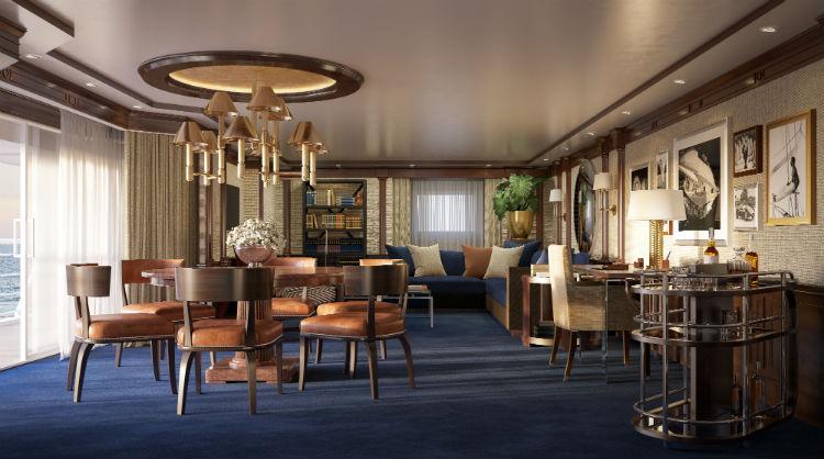 Living Room, Owner's Suite - Oceania Cruises