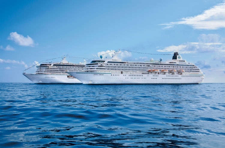 Crystal Cruises ships - Symphony and Serenity