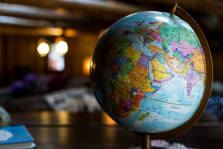 Globe - Map of the world