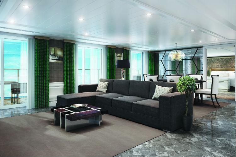 Grand Suite - Seven Seas Splendor