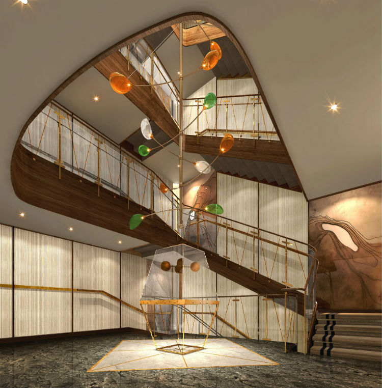 Atrium - Seabourn Venture