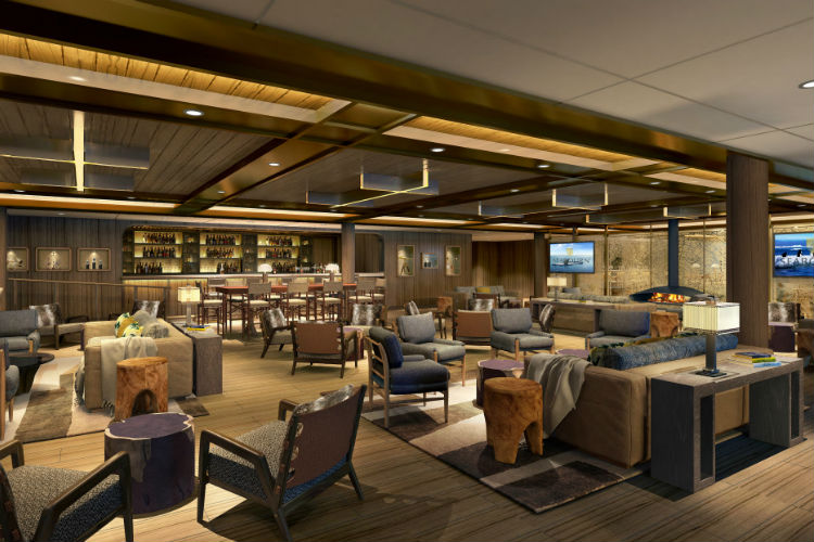 Seabourn Venture - Expedition Lounge