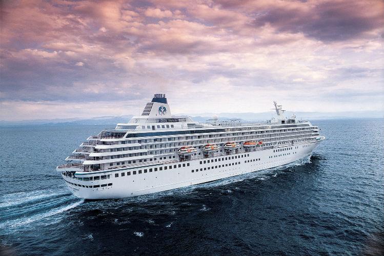 Crystal Symphony at sea - Crystal Cruises